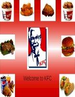 Tiểu luận môn marketing dịch vụ Các thuộc tính chất lượng dịch vụ Ser-Qual tại của hàng KFC Phạm Ngọc Thạch