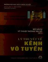 Sách kỹ thuật thông tin số. T.3 Lý thuyết về kênh vô tuyến