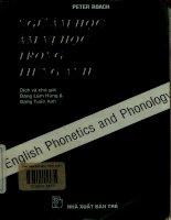 Ngữ âm học, âm vị học trong tiếng Anh