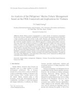 An Analysis of the Philippines' Marine Fishery Management based on the PSIR Framework and Implications for Vietnam