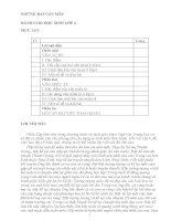 NHỮNG bài văn mẫu DÀNH CHO học SINH lớp 6