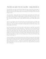 PHÁT BIỂU cảm NGHĨ về bài cầu LONG BIÊN CHỨNG NHÂN LỊCH sử   văn lớp 6