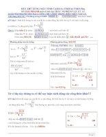 Hãy thử dùng máy tính casio fx 570es và 570es plus để giải nhanh một số bài tập trắc nghiệm vật lý 12
