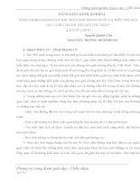SKKN KINH NGHIỆM GIẢNG DẠY BÀI BỐI CẢNH TRONG NƯỚC VÀ TRÊN THẾ GIỚI SAU CHIẾN TRANH THẾ GIỚI THỨ NHẤT (LỊCH SỬ 9)
