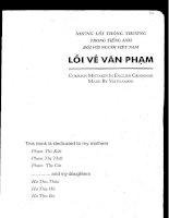 Những lỗi thông thường trong tiếng Anh đối với người Việt Nam lỗi về văn phạm