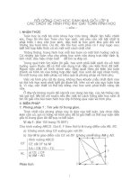 SKKN Bồi dưỡng học sinh lớp 8 các cách vẽ hình phụ khi giải toán hình học
