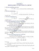 tóm tắt lý thuyết hình học chương 1 lớp 12
