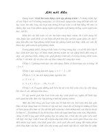 SKKN Phương pháp giải bài toán bằng cách lập phương trình ở THCS