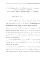 SKKN MỘT SỐ Ý KIẾN  BÀN VỀ VẤN ĐỀ ĐỔI MỚI PHƯƠNG PHÁP DẠY HỌC MÔN MĨ THUẬT Ở BẬC THCS