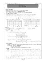 tài liệu đại số lớp 10 chương 5