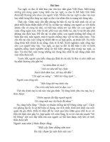 Những câu ca dao tục ngữ nói về lòng yêu thương