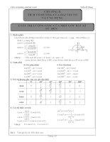 tài liệu hình học lớp 10 chương 2