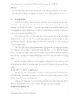 TẠO HỨNG THÚ CHO HỌC SINH THCS HỌC MỸ THUẬT THÔNG QUA MỘT SỐ PHƯƠNG PHÁP DẠY HỌC TÍCH HỢP, TRÒ CHƠI, KỂ CHUYỆN