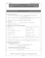 chuyên đề nguyên hàm tích phân và ứng dụng