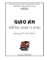 Từ vựng, ngữ pháp tiếng Anh 11