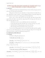 SKKN HƯỚNG GIÚP HỌC SINH LỚP 7 CHUYÊN SÂU VỀ KIẾN THỨC TỈ LỆ THỨC, TÍNH CHẤT CỦA DÃY TỈ SỐ BẰNG NHAU