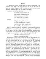 Cảm nhận về bài thơ -Xa ngắm thác núi Lư-