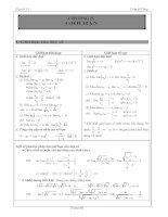 tài liệu đại số lớp 11 chương 4