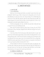 SKKN Đổi mới phương pháp dạy nghe môn tiếng Anh bậc T.H.C.S