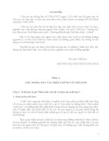 Hướng dẫn ôn tập Triết học Mác – Lênin tham khảo