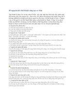 40 nguyên tắc thủ thuật sáng tạo cơ bản