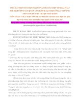 SKKN MỘT SỐ THỰC TRẠNG VÀ ĐỀ XUẤT MỘT SỐ GIẢI PHÁP ĐỔI MỚI CÔNG TÁC QUẢN LÍ THIẾT BỊ DẠY HỌC Ở CÁC TRƯỜNG THCS THUỘC CÁC HUYỆN KHÓ KHĂN