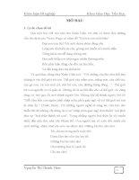 Cái nhìn trẻ thơ trong thơ viết cho thiếu nhi của Phạm Hổ_Khóa luận tốt nghiệp khoa GDTH