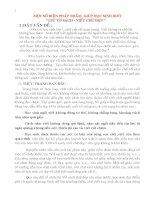 MỘT SỐ BIÊN PHÁP GIÚP HỌC SINH BIẾT GIỮ VỞ SẠCH VÀ CHỮ ĐẸP.DOC