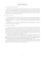 SKKN MỘT SỐ PHƯƠNG PHÁP GIẢNG DẠY VÀ HUẤN LUYỆN PHÁT TRIỂN SỨC BỀN CHO HỌC SINH THPT