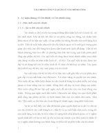 Bài giảng TÀI CHÍNH CÔNG VÀ QUẢN LÝ TÀI CHÍNH CÔNG