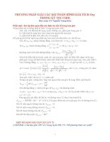 bài tập hình học phẳng OXY