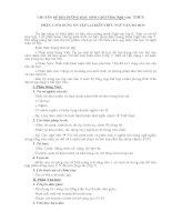 CHUYÊN ĐỀ BỒI DƯỠNG HỌC SINH GIỎI Môn Ngữ văn  THCS