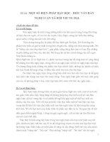 Đề tài MỘT SỐ BIỆN PHÁP DẠY ĐỌC - HIỂU VĂN BẢN NGHỊ LUẬN XÃ HỘI TRUNG ĐẠI