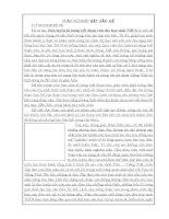 SKKN Rèn luyện kĩ năng viết đoạn văn cho học sinh THCS