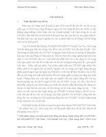 Giải pháp nâng cao hiệu quả hoạt động tín dụng ngân hàng đối với DNN&N tại NHNo&PTNT Việt Nam – Chi nhánh Cao Lộc – Tỉnh Lạng Sơn
