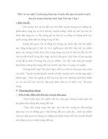 SKKN Một vài suy nghĩ về phương pháp dạy truyện dân gian (truyện truyền thuyết) trong chương trình Ngữ Văn lớp 6 tập I