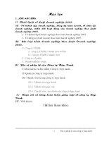 12  đặc điểm pháp lý của cong ty hơp danh theo luat doanh nghiep 2005