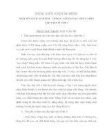 SKKN MỘT SỐ KINH NGHIỆMTRONG GIẢNG DẠY PHÂN MÔN TẬP VIẾT Ở LỚP 1