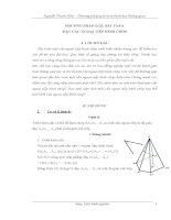 Phương pháp giải toán hình học không gian