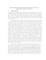 SKKN KINH VỀ  BIỆN PHÁP GIÚP SINH  HỌC TỐT PHÂN MÔN CHÍNH Ở 3 (2)