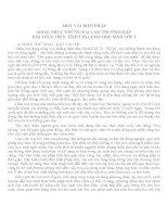 SKKN KHẮC PHỤC NHỮNG SAI LẦM THƯỜNG GẶP KHI THỰC HIỆN TÍNH CHIA CHO HỌC SINH LỚP 3