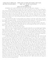 Bài diễn văn kỉ niệm ngày nhà giáo việt nam 20 tháng 11
