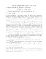 BÀI GIẢNG KHOA HỌC QUẢN LÝ GIÁO DỤC 2