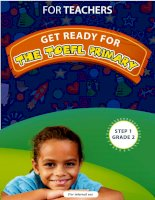 Get ready for the TOEFL Primary Grade 2 For teachers