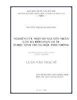 Điều kiện hình thành doanh nghiệp spin-off trong các trường đại học ở Việt Nam (Nghiên cứu trường Đại học Khoa học Tự nhiên - ĐHQGHN[145508]145508145508