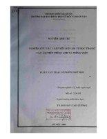 Nghiên cứu các luật kết hợp âm vị học trong các âm tiết tiếng Anh và tiếng Việt[142020][142020]