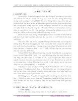 MỘT VÀI KINH NGHIỆM DẠY PHÂN MÔN ÂM NHẠC THƯỜNG THỨC Ở THCS