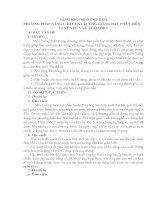 SKKN PHƯƠNG PHÁP NÂNG CAO CHẤT LƯỢNG GIẢNG DẠY PHÂN MÔN LUYỆN TỪ VÀ CÂU LỚP 5