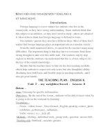 SKKN Rèn kĩ năng nghe Tiếng Anh cho học sinh lớp 8