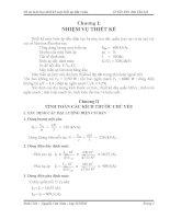 Đồ án môn học thiết kế máy biến áp dầu 3 pha